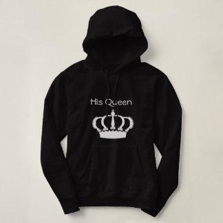 Couple hoodies - his queen - female