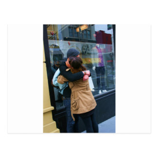 Couple Hugging photo Postcard