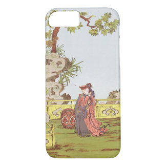 Couple in a Chinese garden, from 'Ornaments of Chi iPhone 7 Case