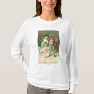 Couple in Costume Doing the Cake-Walk T-Shirt