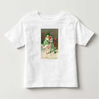 Couple in Costume Doing the Cake-Walk Toddler T-shirt