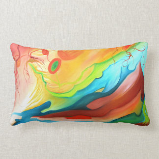 Couple in Heaven Colorful Pillow