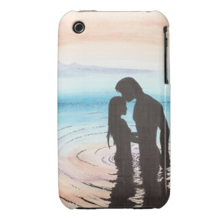 Couple in Love at Sunset iPhone 3 Case-Mate Cases