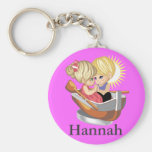Couple in Rowing Boat Keychains