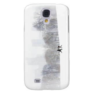 Couple in Sheep Meadow, Central Park Galaxy S4 Covers