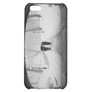 Couple in Snowstorm, Central Park Case For iPhone 5C