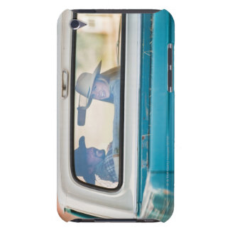 Couple in truck barely there iPod cover