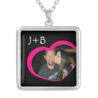 Couple Inital Necklace