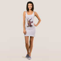 Couple Lobsters Sleeveless Dress
