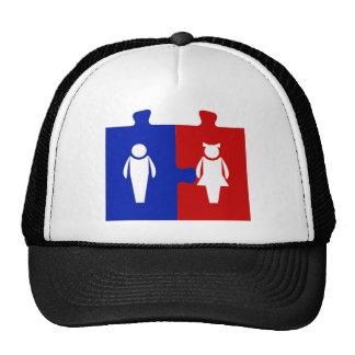 Couple Men and Women Trucker Hat