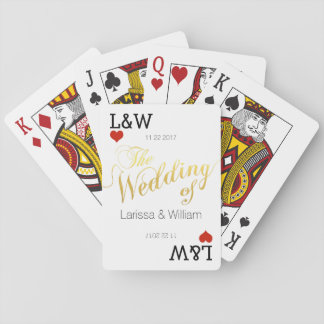 couple names, love celebration, wedding playing cards