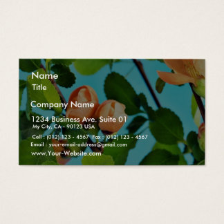 Couple Of Flower Buds Business Card