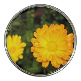 Flower garden golf ball markers zazzle couple of small yellow flowers golf ball marker mightylinksfo Image collections