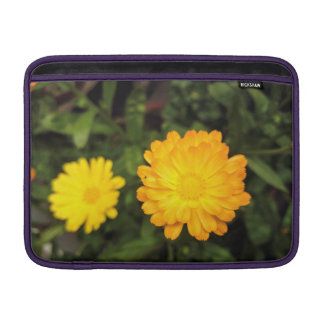 Couple of small yellow flowers MacBook air sleeves