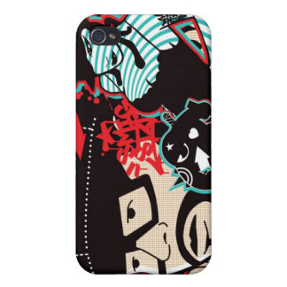 Couple - Old schhol Cases For iPhone 4