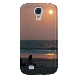 Couple on the Beach at Sunset Samsung S4 Case