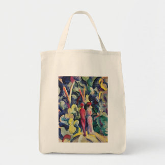 Couple on the Forest Track by August Macke Tote Bag