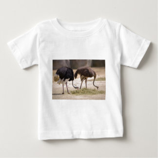 Couple Ostriches eating Baby T-Shirt