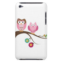 Couple owls iPod touch Case-Mate case