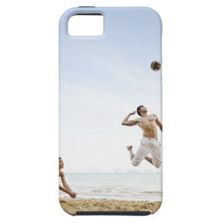 Couple Playing Beach Volleyball at Six Senses iPhone SE/5/5s Case