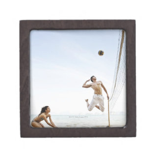 Couple Playing Beach Volleyball at Six Senses Premium Gift Box
