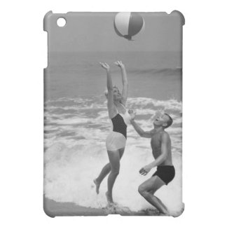 Couple Playing with a Beachball Case For The iPad Mini