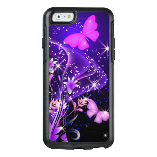 Couple Purple Butterflies OtterBox iPhone 6/6s Case