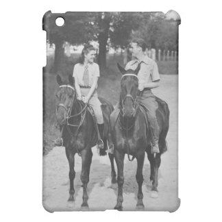 Couple Riding Horses Cover For The iPad Mini