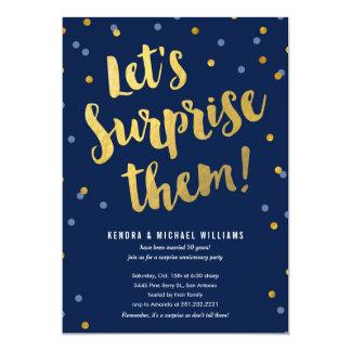 Couple's Surprise Party Invitations