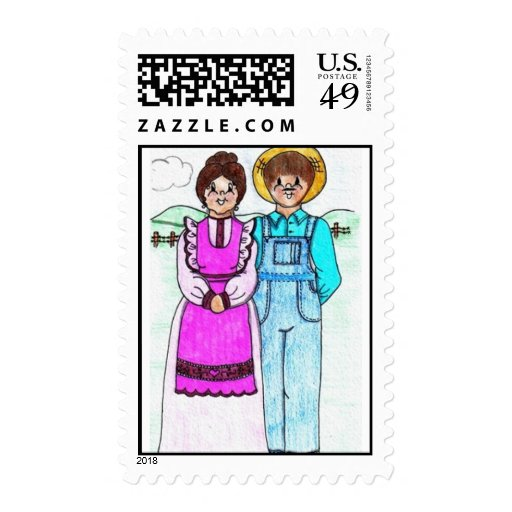 Couple stamp