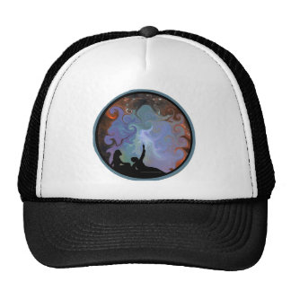 Couple Stargazing - Contemplating Stardust Mesh Hats