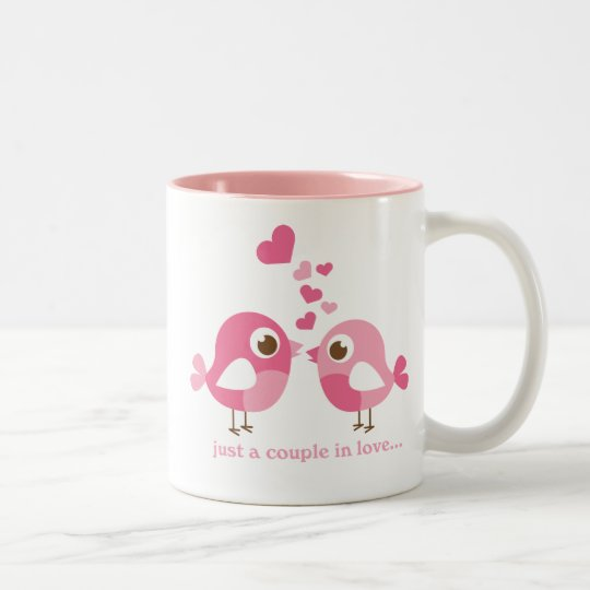 Couple Still In Love Valentines Two-Tone Coffee Mug