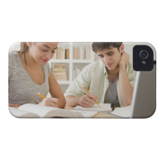 Couple studying together Case-Mate iPhone 4 case