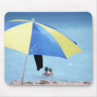 Couple Swimming, South Miami Beach, Florida Mouse Pad