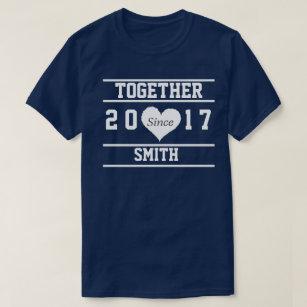 4b3b82ce3 Couple T-Shirts - Custom Couple Shirts | Zazzle