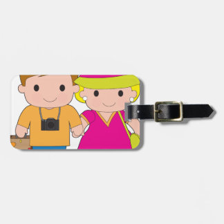 Couple Travel Tag For Luggage