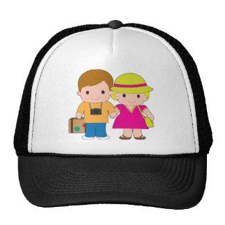 Couple Travel Trucker Hat