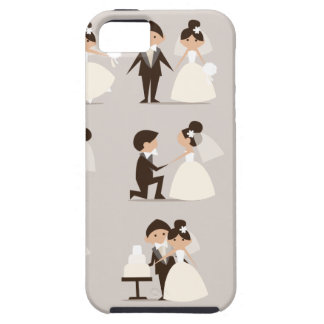 couple vector.tif iPhone SE/5/5s case
