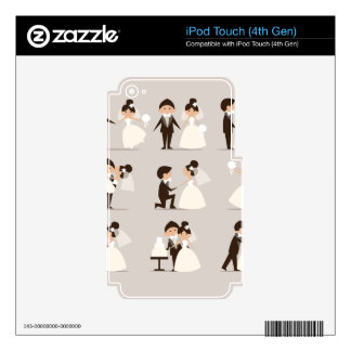 couple vector.tif skins for iPod touch 4G