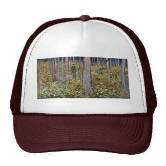 Couple Walking In The Forest By Vincent Van Gogh Trucker Hat