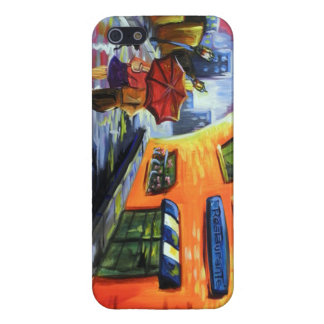 Couple Walks after Rain for IPhone 5 Cover For iPhone 5