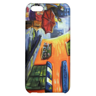 Couple Walks after Rain for IPhone 5 iPhone 5C Cases