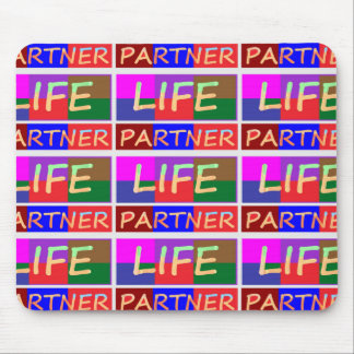 COUPLE Wear : LIFE Partners Mouse Pad