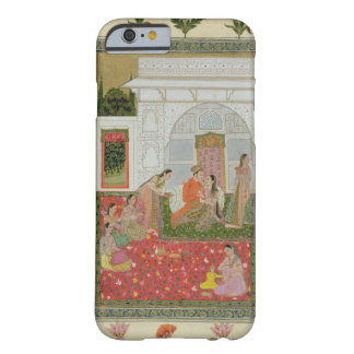 Couple with female attendants and musicians barely there iPhone 6 case