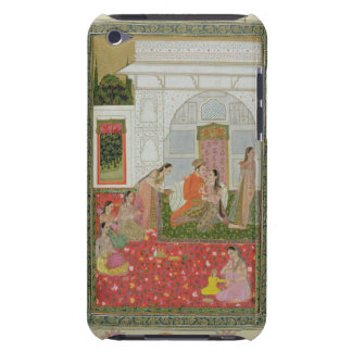 Couple with female attendants and musicians barely there iPod cover