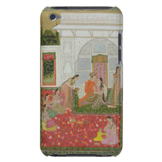 Couple with female endants and musicians iPod touch case