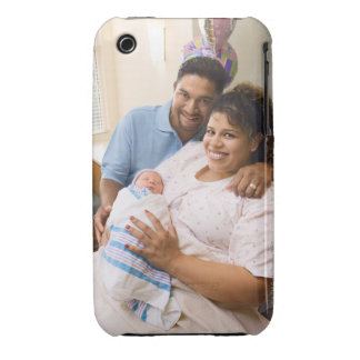 Couple with newborn Case-Mate iPhone 3 cases