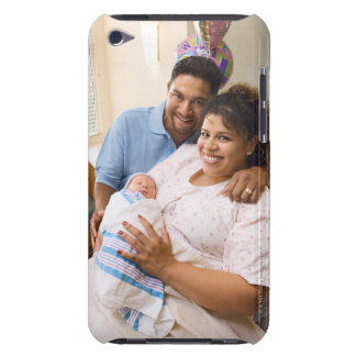 Couple with newborn iPod touch case