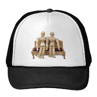 CoupleOnBench122410 Trucker Hat