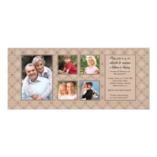 Couple's Birthdays Multi Photo Invitation